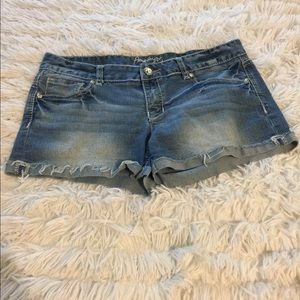Amethyst Jeans Shorts - Amethyst Jean Shorts